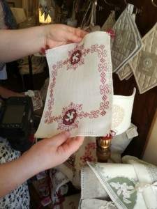 Assisi-kirjontaa / Assisi Embroidery